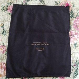 Authentic Kate Spade Dust Bag